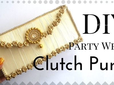 New Clutch Purse Tutorial Step By Step Video By Maya Kalista | Easy and Simple DIY for Girls !