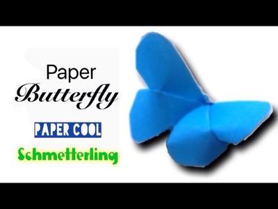 Wie man einen Papier Schmetterlingmacht★DIY★ einfach für kinder falten mit Paper Cool