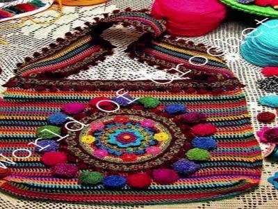 Crochet Bag Patterns 1 |  WOC |  Crochet designs & Patterns