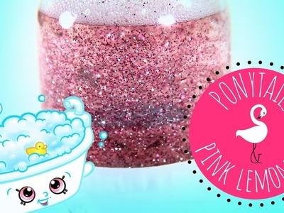DIY best sensory glitter snow globe tutorial