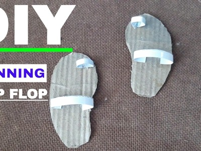 DIY Realistic FLIP FLOP AUTOMATIC RUN || DIY MINIATURE SHOES || Creative Craft