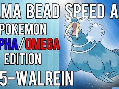 Hama Bead Speed Art   Pokemon   Alpha.Omega   Timelapse   365 - Walrein