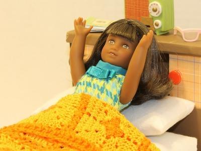 How to Crochet Mini Melody's Blanket