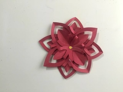 How to Make a Beautiful Flower From Paper - Step by Step