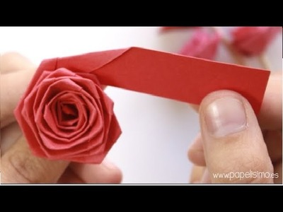 How to make paper Flowers - Rose Paper Flower - Paper Rose bouquet for Special day