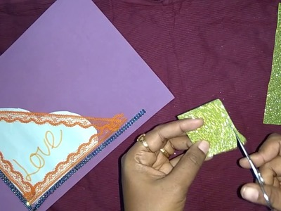 How To Make Simple Scrapbook.