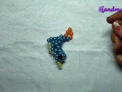 Beaded bead tutorial- Happy bird (2.2)