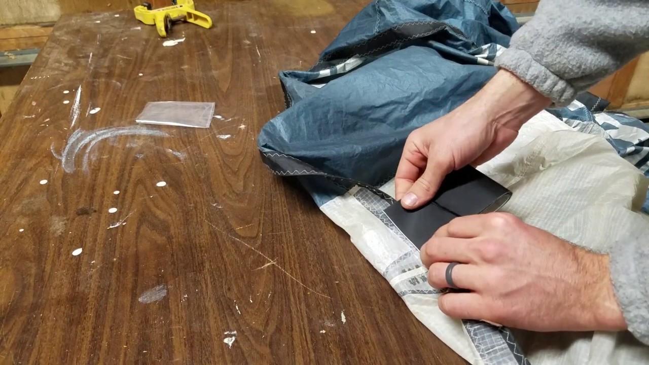 Best DIY Kiteboarding Kite Repair Tutorial