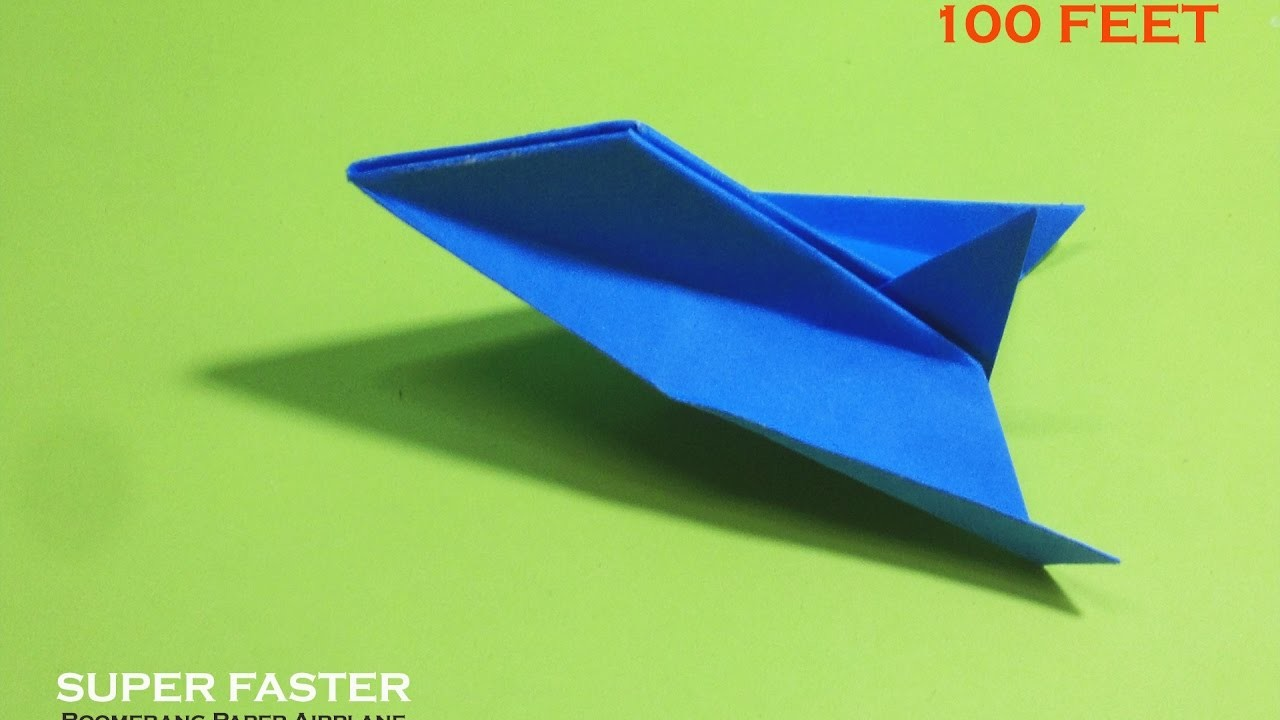 how to create best paper airplane