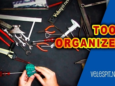 Best Tool Organizer Ever | Simple DIY project for workshops