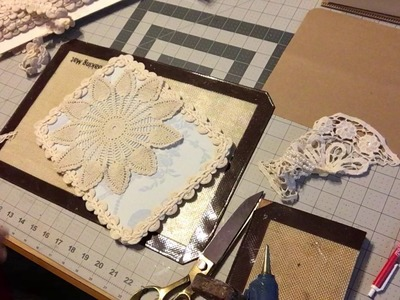 Designing Crafts with CWD- Needle Book Tutorial part 1