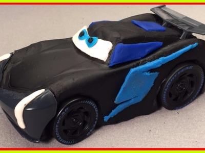 Disney Cars 3 Jackson Storm DIY Play Doh Next Generation Piston Cup Racer Disney Pixar Cars