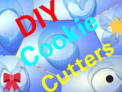 DIY Cookie Cutters Made From Plastic Bottles