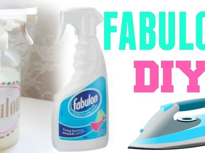 ✮ DIY ✮ Dupe Fabulon ✮ Spray de repassage | Clothes Ironing Spray | Caly Beauty