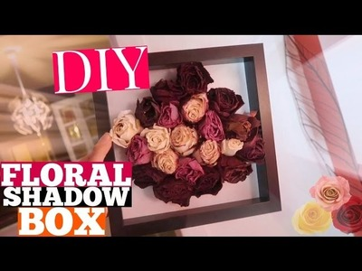 DIY Floral Shadow Box! How to Preserve Dried Flowers in 2 Different Styles
