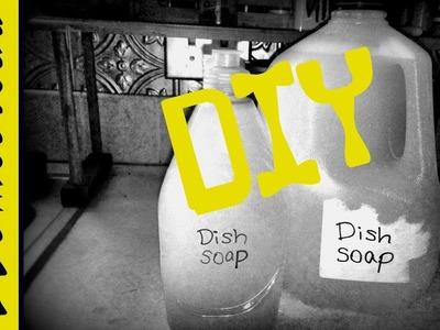 DIY Homemade Dish Soap