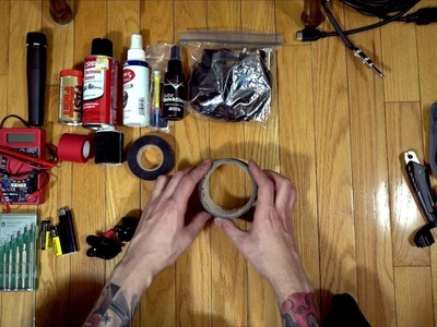 How To: Building a DIY guitar players toolbox for gigs