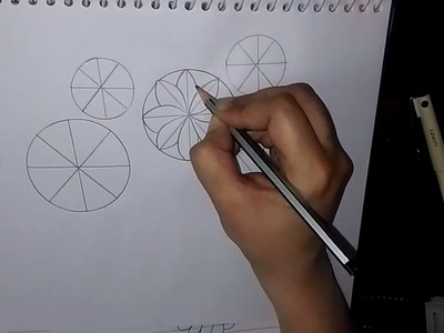 How to draw a flower step by step with pencil