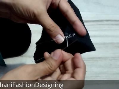 How To Make A Buttonhole Hand Stitch