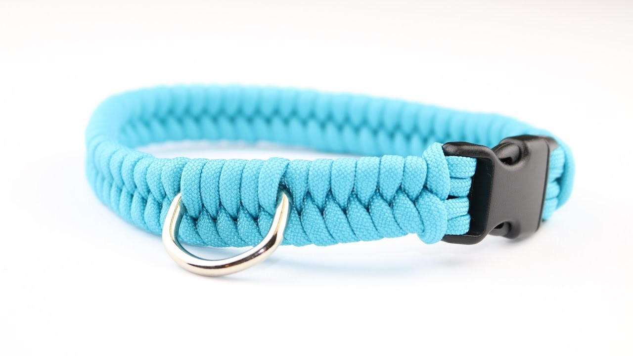 How To Make A Switchbackfishtail Paracord Dog Collar Tutorial