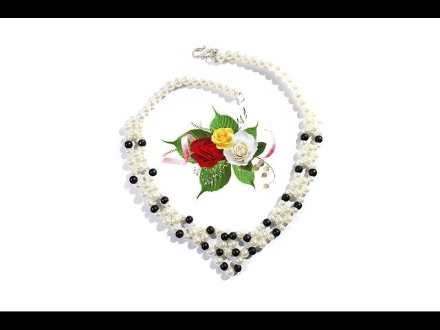 How to Make A Pearl Necklace At Home Quick Tutorial