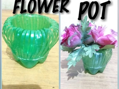 How To Make Flower Pot At Home