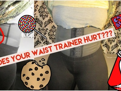 HOW TO MAKE YOUR WAIST TRAINER LESS PAINFUL | DIY |