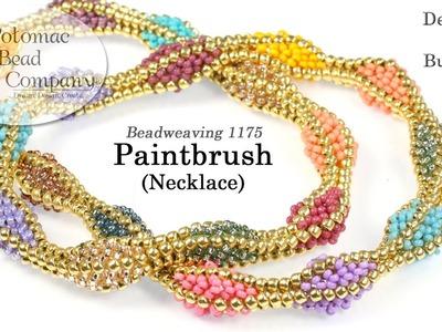Paintbrush Necklace (Tutorial)