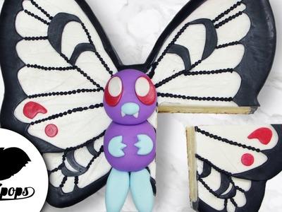 Pokemon Butterfree Cake | DIY & How to | Birthday Cake Ideas