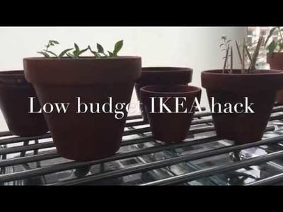 Self-Watering System For Plants - Cheap DIY IKEA Hack