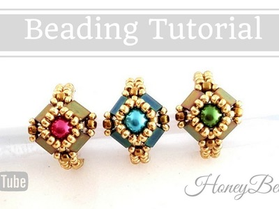 Tilaria Ring Easy Beading Tutorial by HoneyBeads1