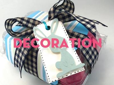 Upcycled  Easter egg box decoration. Big Shot Tutorial (English)
