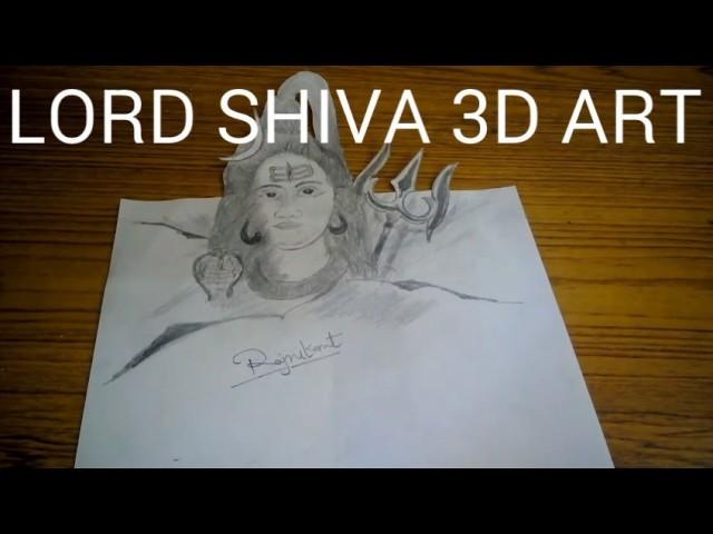 3D ART of Lord Shiva