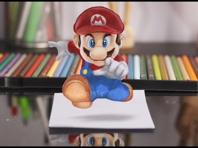 3D DRAWING: SUPER MARIO