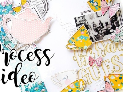 Be Our Guest   Scrapbook Process Video