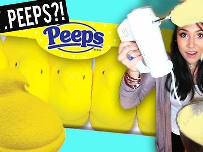 D.I.Y. PEEPS! (Made with Aquafaba) - #TastyTuesday