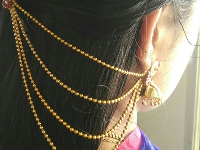 DIY BRIDAL EAR CHAIN