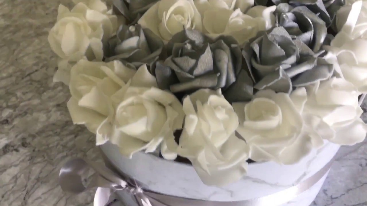 Diy Roses In A Box Luxury Forever Lasting Flowers My