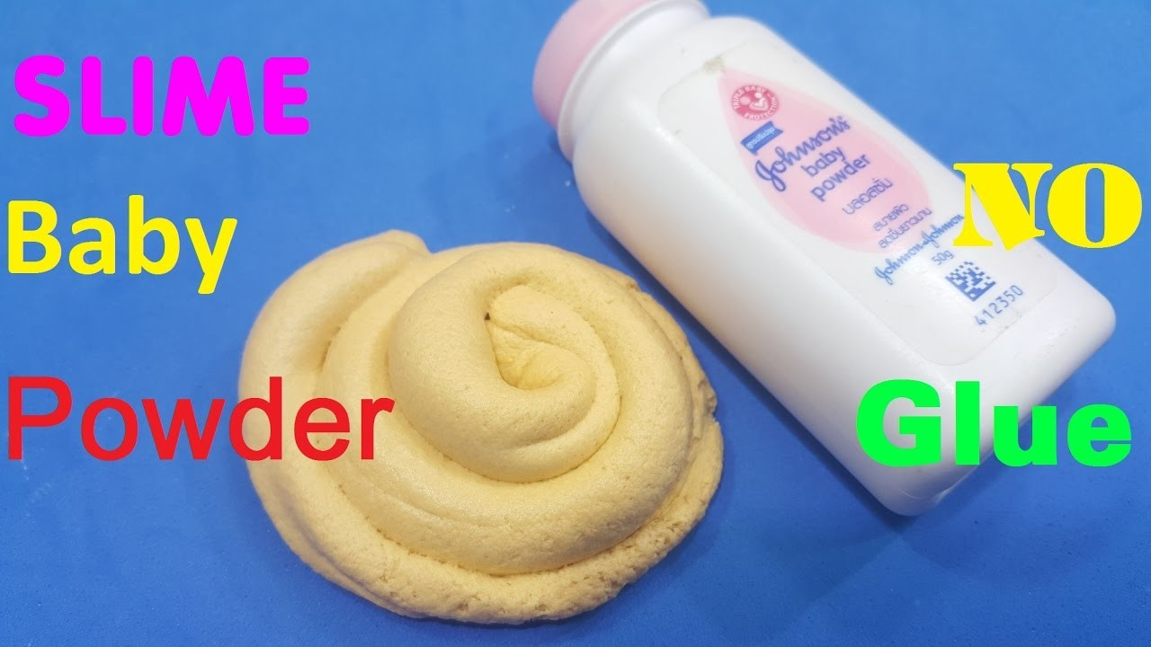 Diy slime without glue how to make slime with baby powder and dish diy slime without glue how to make slime with baby powder and dish soap no glue ccuart Image collections