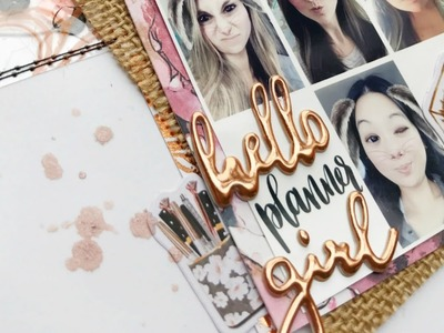 Guest Designer! A scrapbooking layout using the March Tps kits with  jenxoplans