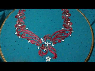 Hand Hand Embroidery Designs Canvaswork Stitch Stitch And Flower
