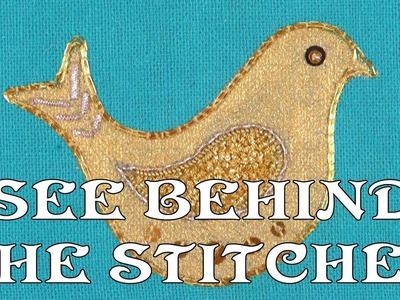 Hand Embroidery - See behind the stitches. .