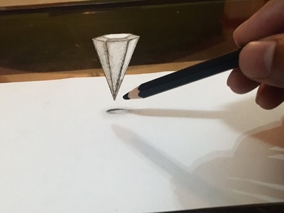 how to draw anamorphic art on paper