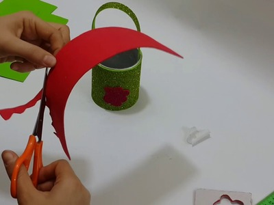 How to make a PAPER pencil case - Pen Holder