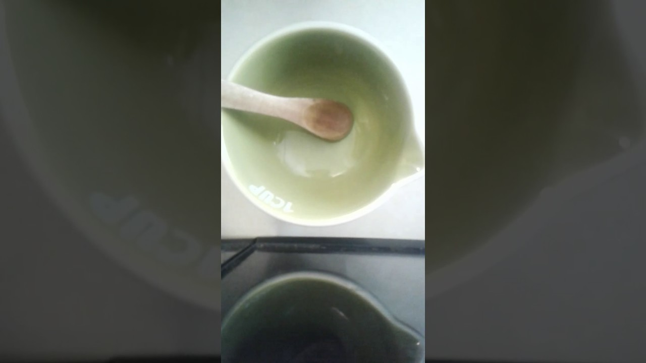 How to make slime with glue dish soap saline solution!