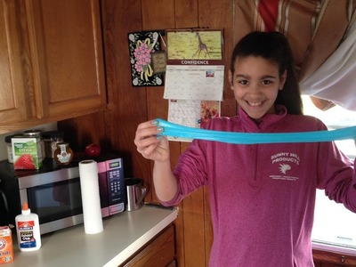 How to make slime with glue, baking soda and contact solution