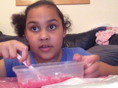 How to make slime with two ingredients cornflour and pva glue