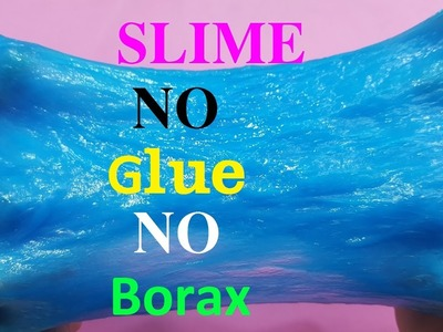 how to make sugar slime without glue