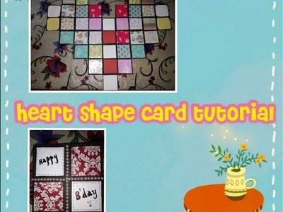 MultiFold scrapbook || Heart shaped card tutorial|| In just 3min.  ❤