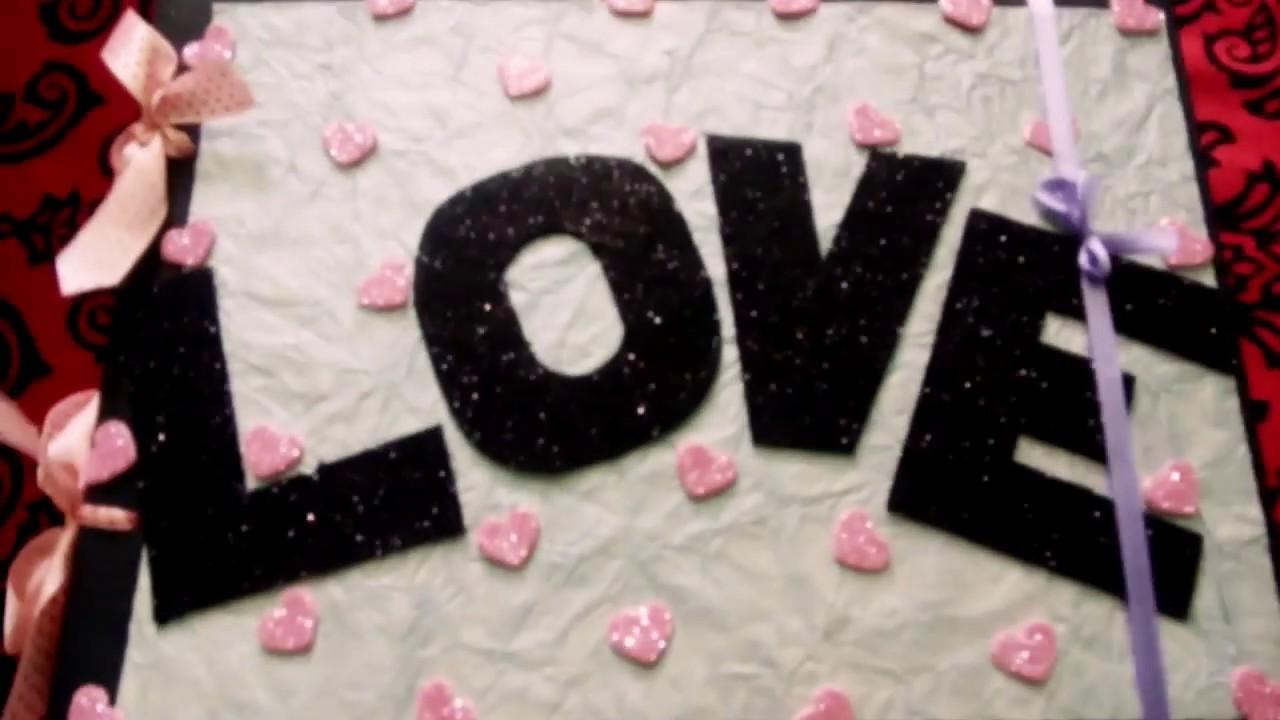 Scrapbook greeting card gift fr ur love one. . ????????